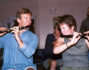 Catherine McEvoy and Chris Norman 2001