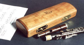 Flute case by Andrew Crawford