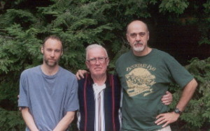 Left to right: Mike Casey, Mike Rafferty, and Paul Wells.