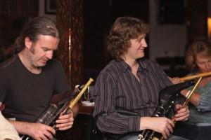 Cillian Vallely and Tiarnan O Duinchinn