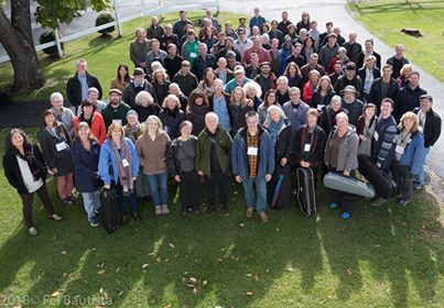 Photo of participants and instructors at the 2018 Northeast Tionól